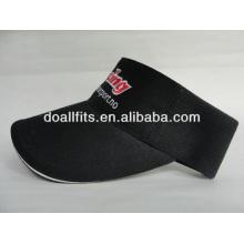 100% cotton Customized Logo fashion Sun visor cap,