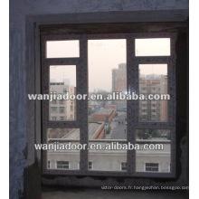 Fenêtre à panneau fixe en pvc moderne