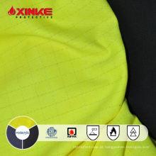 Xinke EN 11612 modacrílico inerentemente tecido à prova de fogo