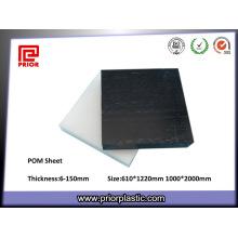Palette 100% thermoplastique de POM de matière vierge naturelle
