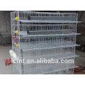 Cage de caille entièrement automatique façon pratique pour nettoyer les fèces