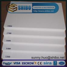 Panneau de fibre de céramique réfractaire, plaque de fibre de céramique, panneau de fibre