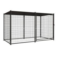 Cage de chien en acier galvanisé