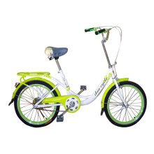 Green City City Bike dengan Side Kickstand