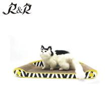 Graffiti Style Corrugated Cardboard Cat Scratch Sofa Lounge Cat Toy SCS-7011