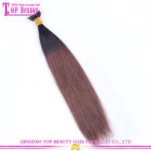 2015 горячей продажи высокое качество Девы бразильский Реми человеческих волос ленты расширения