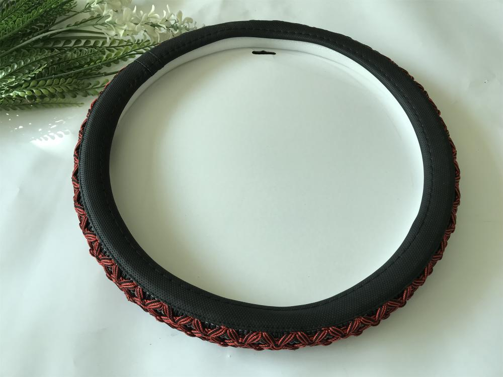 Mercedes Benz flax steering wheel cover