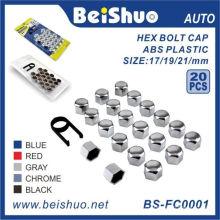 20 + 1PCS ABS пластиковые колпаки болтов Topper Caps Set