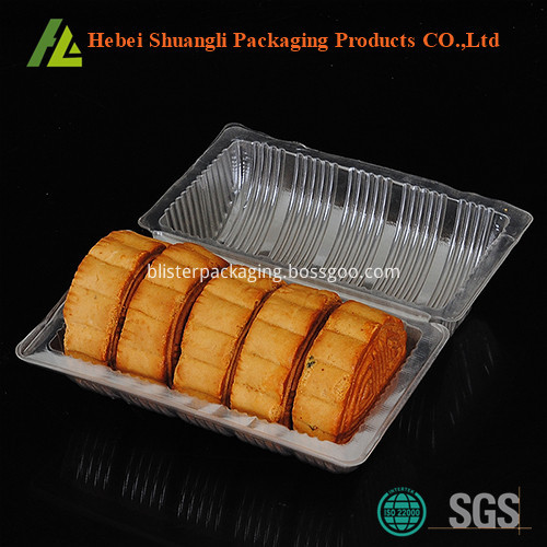 plastic cake packaging