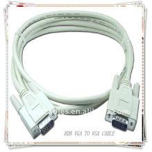 Проектор высокого качества белый HDB15 PIN CABLE MM VGA SVGA CABLE, кабель монитора LCD