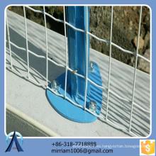 Anping Baochuan Venta al por mayor Ajustable Fácil de instalar al aire libre utilizado valla Rolls para la venta