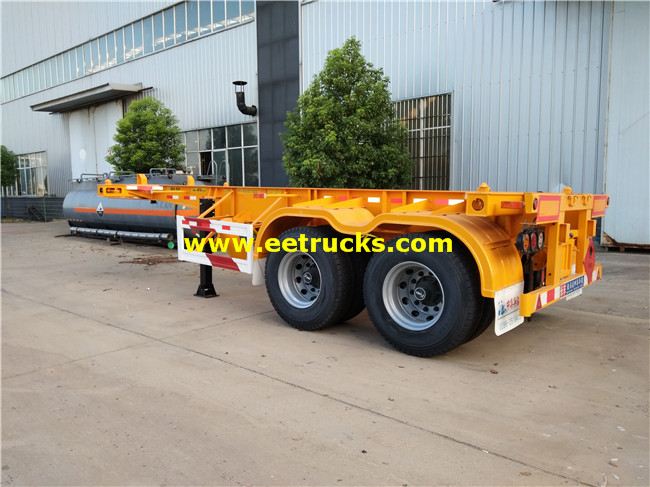 Low Flatbed Trailers