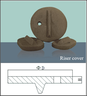 Jual Hot Refractory Insulating Riser Cover