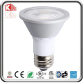 Ampoule LED PAR20 7W super chaude et chaude