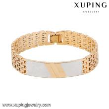 74548 Bracelet en alliage de cuivre multicolore frais spécial de mode