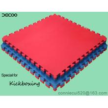 T Padrão Vermelho Azul Cor Eva Judo Floor Mat 4cm