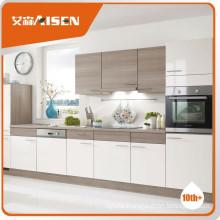 Popular for the market wood grain kitchen cabinet
