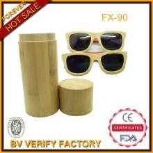Топ-продажа 100% ручной работы высокого качества бамбука Sunglass с деревянными Sunglass случай