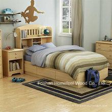 Ensemble de chambre à coucher 3 pièces à lit jumelé pour enfants (HF-HH31)