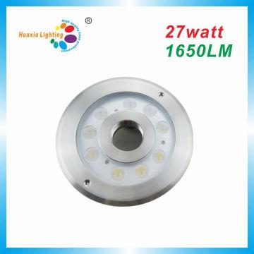 27w высокой мощности ip68 вело свет фонтана, подводный свет
