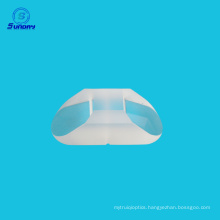 Optical 60 degree angle prism with Aluminium coating
