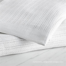 Cotton Thermal Woven Hospital Leno Blankets