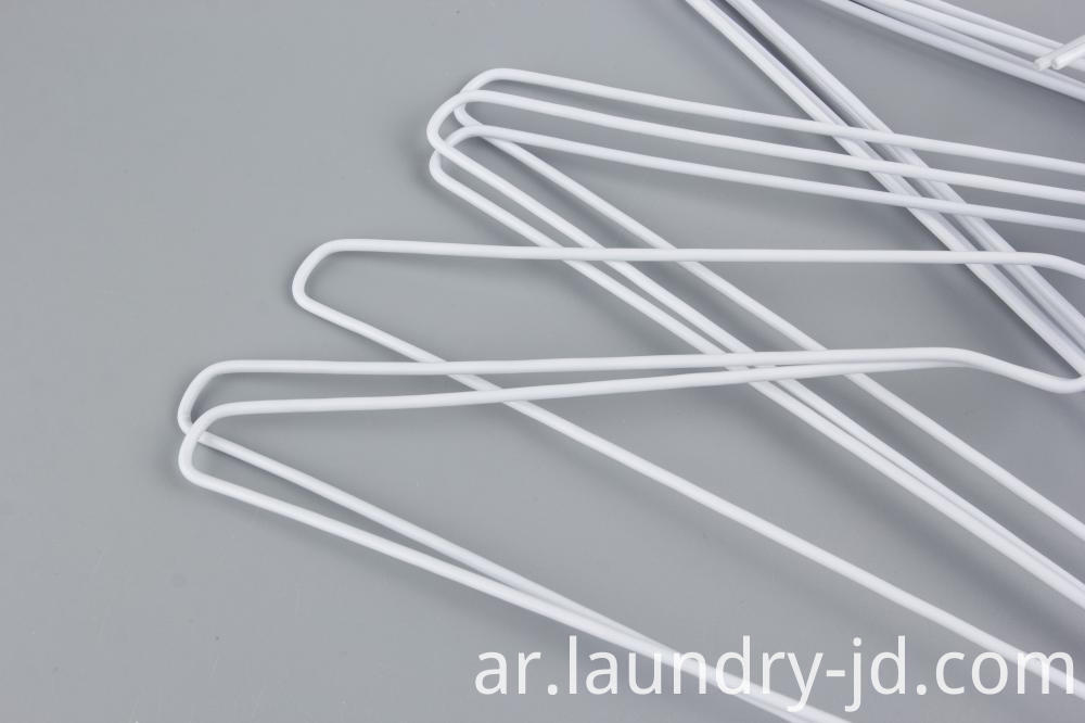 White Plastic Coated Hanger