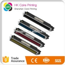 Precio de fábrica Compatible 126A / CE310A / CE311A / CE313A / CE312A Cartucho de tóner para HP Color Laserjet PRO Cp1025 / Cp1025nw