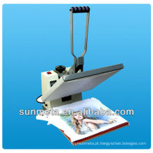 Flatbed máquina de imprensa de calor para T-shirt fabricado na china