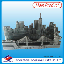 New York Metal Name Card Holder The Statue of Liberty Design Business Card Holder