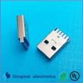 Vertikale Buchse Typ C Anschlüsse USB3.1 Stecker für Kabelnaben
