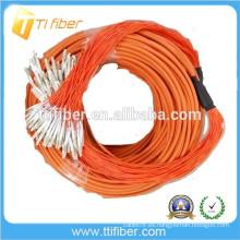 Pre-terminated 48Core Bundle Cables de conexión multimodo LC