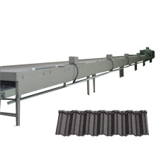 China Roof Lightweight Roofing Materials Stone Coated Metal Roof Tiles Production Machinery Line