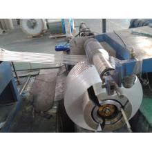 Bobina de aluminio para tubo de plástico