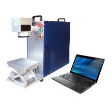 Лазерная машина маркировки черных металлов из нержавеющей стали / Маркировка пластмассового цветного лазера
