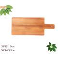 Tableau de découpe en bois Acacia de 13 po Planche à découper en bois de cuisine
