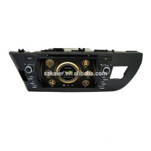 Brazo solución wince system + 8inch + car dvd para corolla 2014 + factory directamente