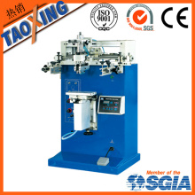 Semi auto and single color cylinder screen printing machine for plastic cup
