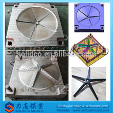 custom plastic office chair caster mould