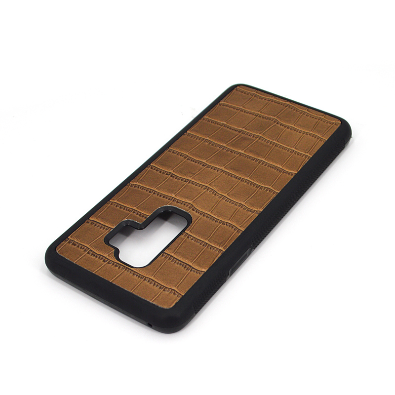 For Samsung S9 Crocodile Leather Mobile Phone Case