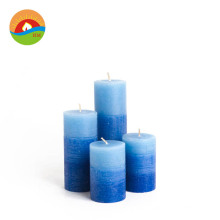 Custom household festival party events decorative art large pillar soy candles