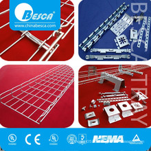 Cooper B Line Ezystrut Galvanised Wire Mesh Basket Cable Trays (Straight or Cablofil Type o OEM)