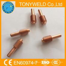 Consumo de peças de corte de plasma eletrodo 1650 120926