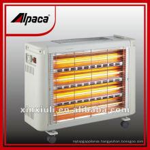 Portable quartz infrared heater space heater room heater