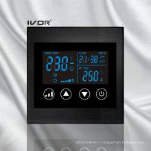 Interrupteur tactile de thermostat d'air en cadre acrylique (SK-AC100L8)