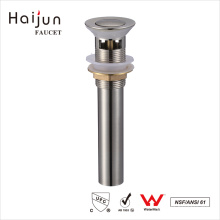 Haijun China Factory Empurre a banheira de pop-up com excesso de dreno
