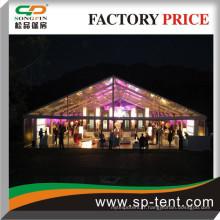 Tentes transparentes parfaites pour les événements du soir et les soirées 20x40m