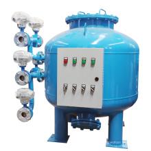 Filtre de sable à traitement automatique de l'eau à contre-courant continu