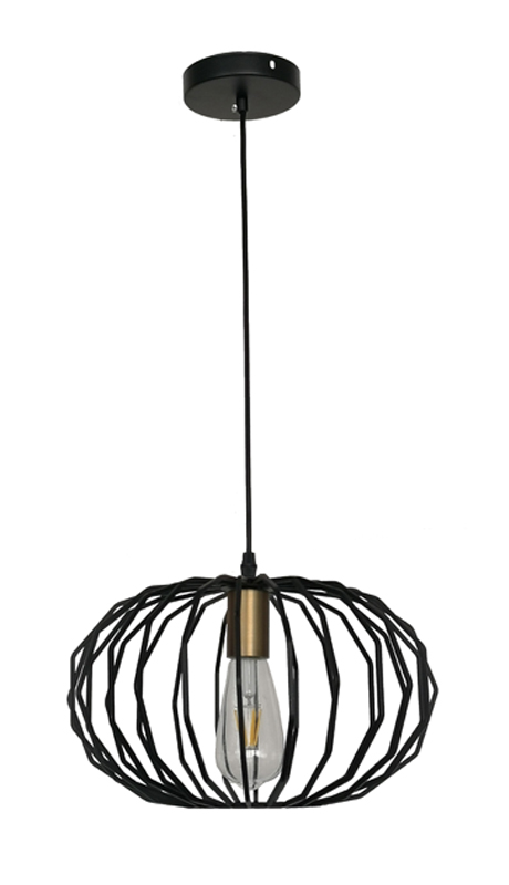 Black Lighting Modern Lamp
