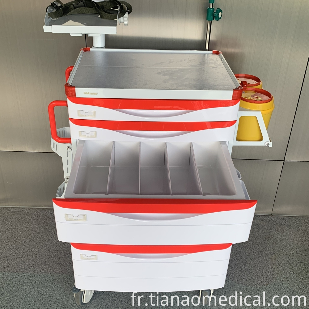 Medical Practical Emergency Trolley